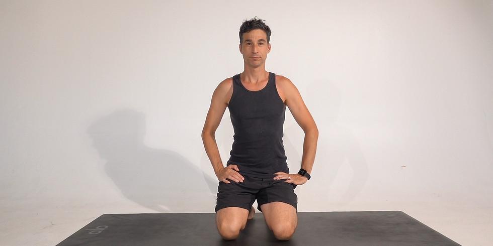 Sunday hatha yoga class by Jon Witt
