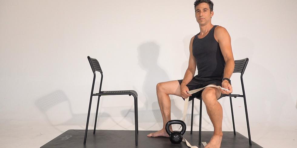 Wednesday Therapeutic Yoga class by Jon Witt