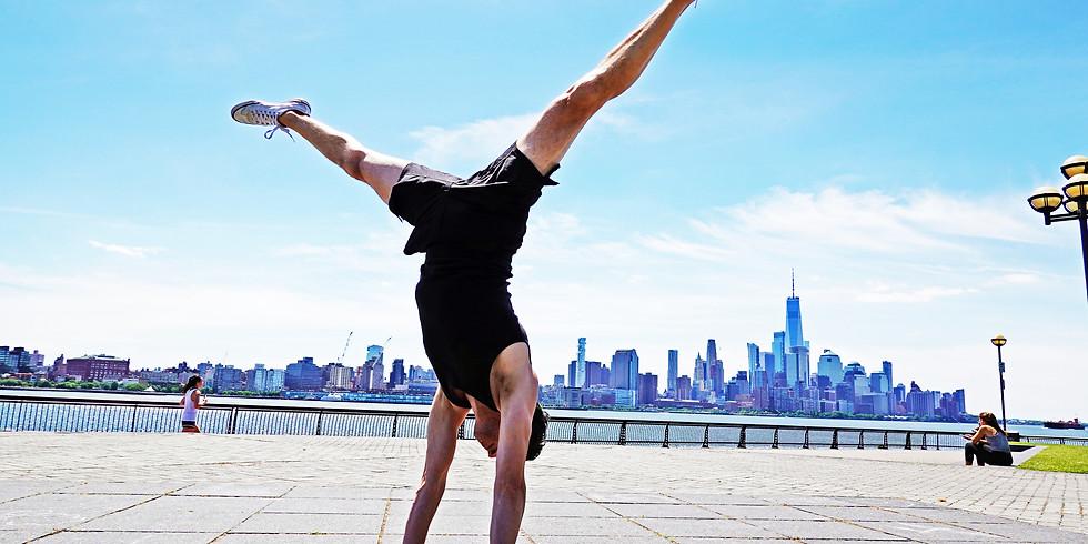 Hatha yoga class with Jon Witt
