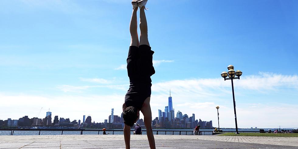 Sunday hatha yoga class with Jon Witt