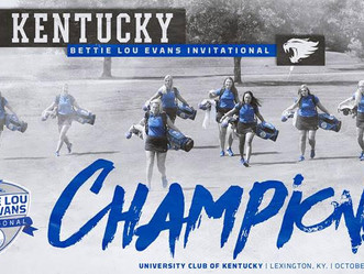 UK W Golf Wins Bettie Lou Evans Invitational