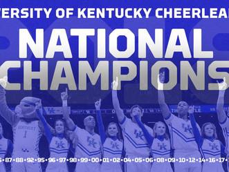 Kentucky Cheerleading wins 23rd National Championship!