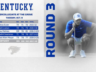 UK M Golf: Lukas Euler Earns Top-15 Finish in Season Debut