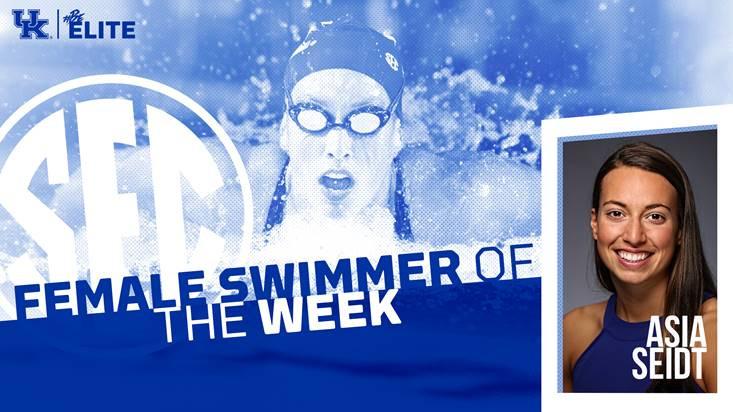 Asia Seidt, Kentucky Swimming & Diving