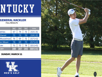 M Golf finish 4th at General Hackler Championship