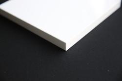 Gloss white slab