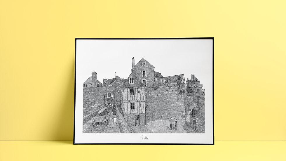 Sérigraphie Porte Poterne Vannes