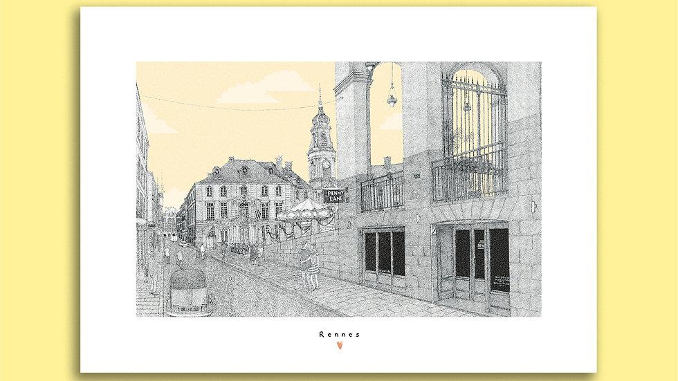 Carte Postale Place de la Mairie