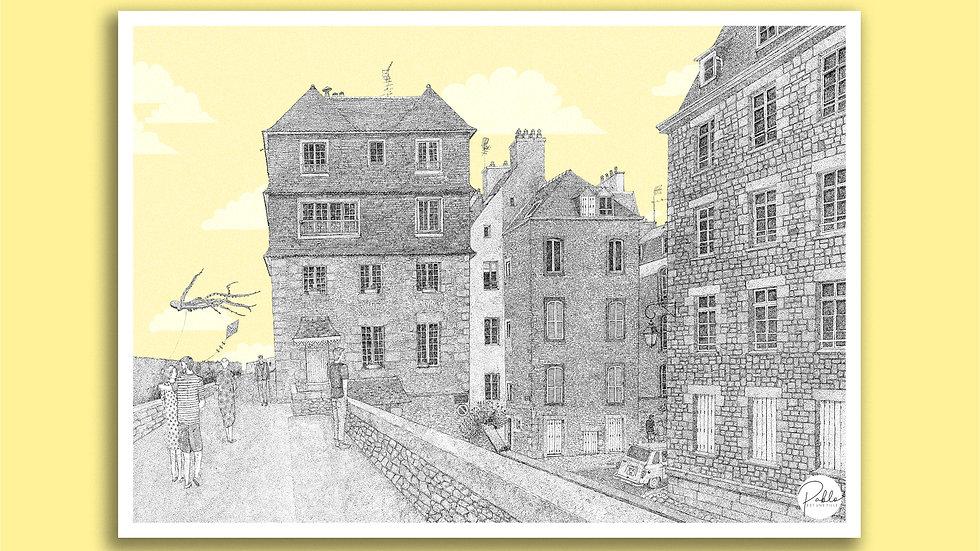 Carte Postale Moulins Colin - Saint-Malo