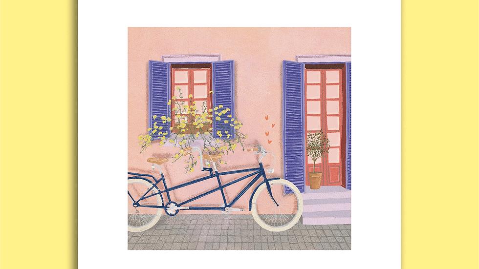 Carte Postale - Tandem