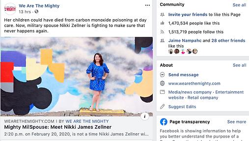 Nikki James Zellner We Are the Mighty feature