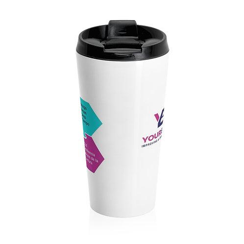 YBU Stainless Steel Travel Mug