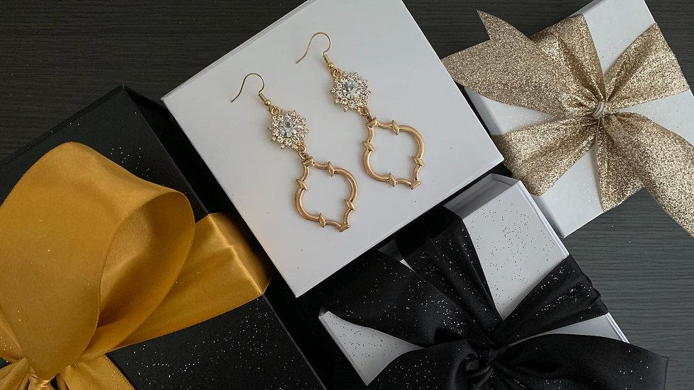 Gold Baroque | Long Earrings