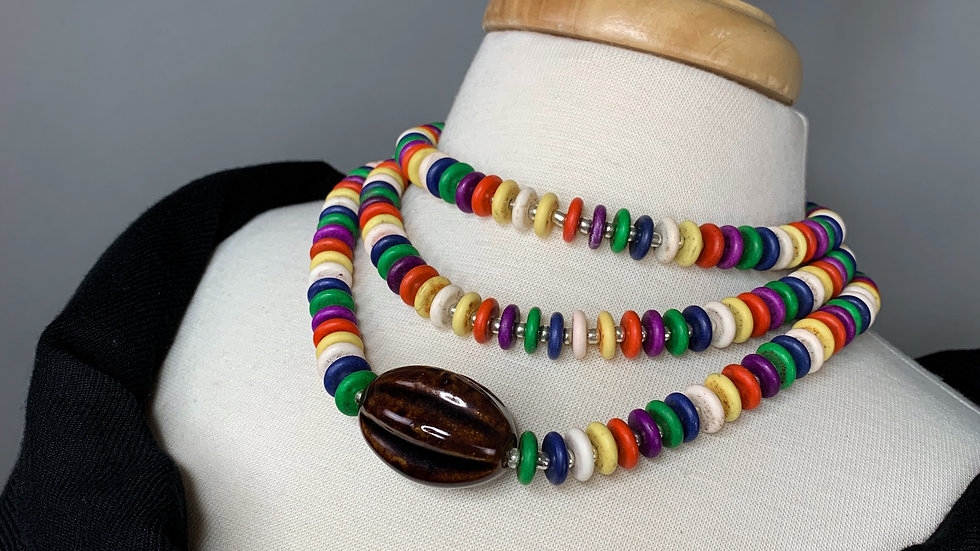 Tribal | Multicolor Necklace