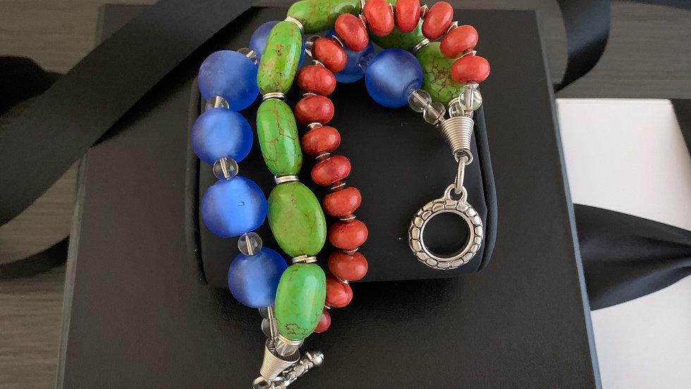 River Stone Bracelet
