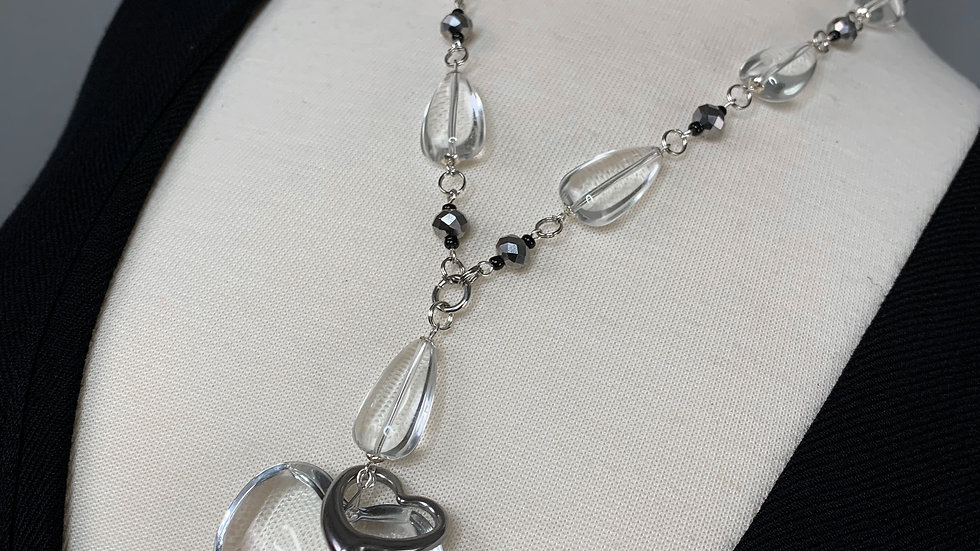 Crystal Clear | Heart Necklace