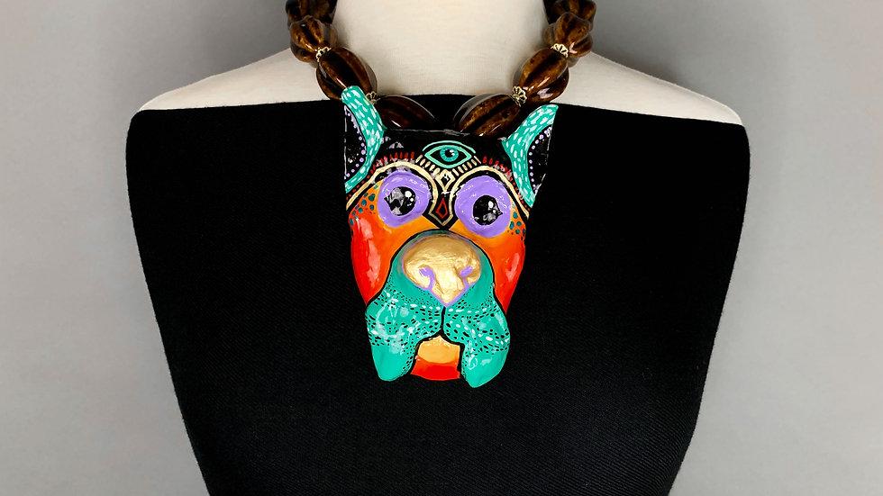 Third Eye Dog Totem | Necklace