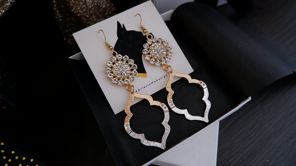 Baroque | Long Earrings