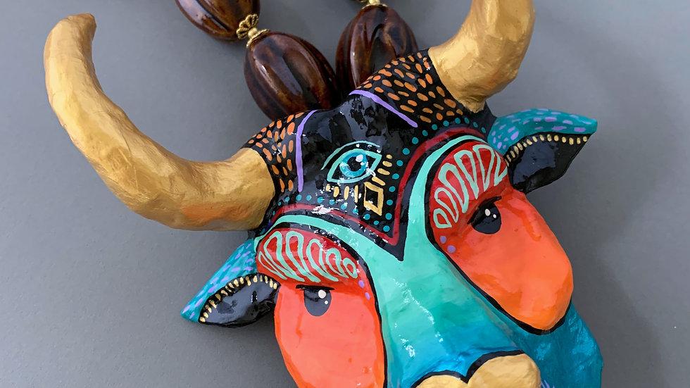 Third Eye Bull Totem | Necklace