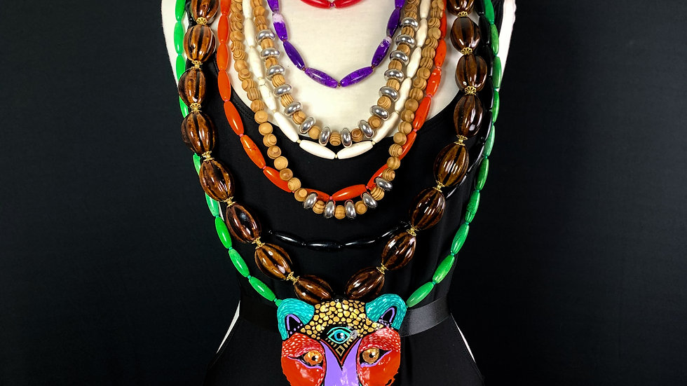 Third Eye Feline Totem | Necklace