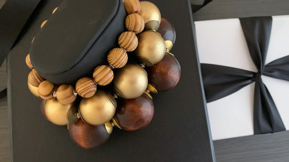 Wood Bracelet Set | Stretch