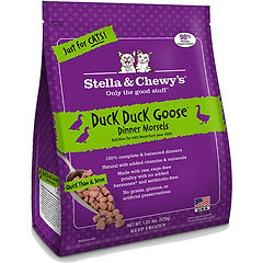 Stella & Chewy's Cat Food Duck Duck Goose Dinner Morsels