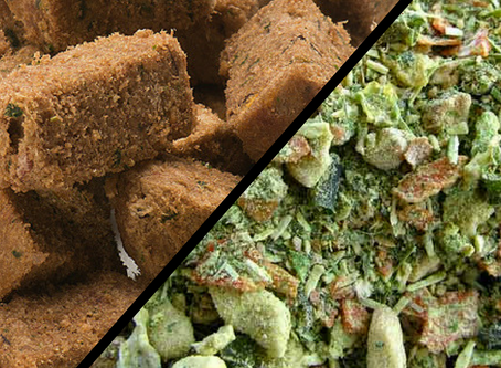Freeze-Dried vs. Dehydrated Pet Foods