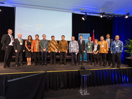 Palapa Ventures launches during the Indonesian Ministers' visit to Silicon Valley
