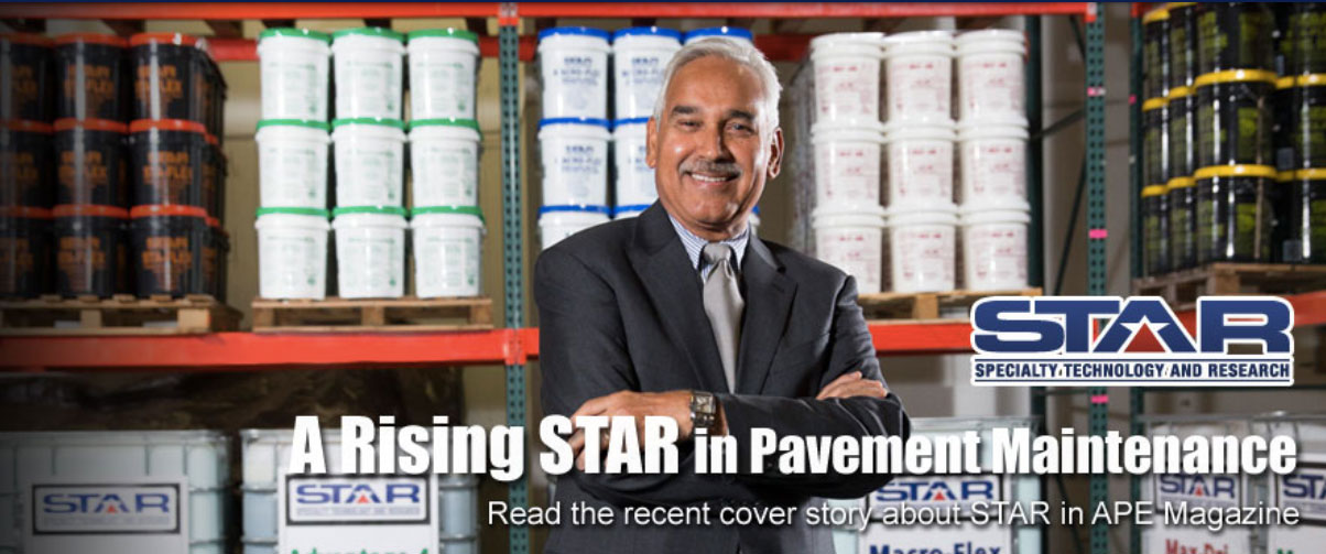 Rising STAR in Pavement