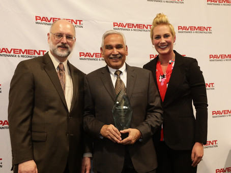 Girish Dubey Inducted Into the Pavement Hall of Fame