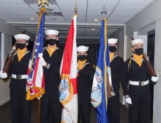 Sea Cadet Honor Guard