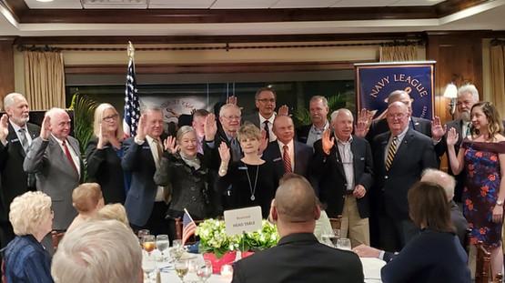 2020 Board of Directors in Sworn In