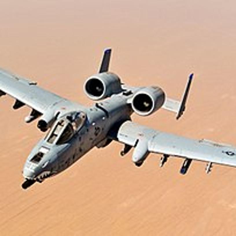 A-10 Warthog Demo at Moody AFB