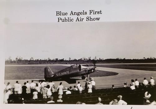 First Blue Angels Show