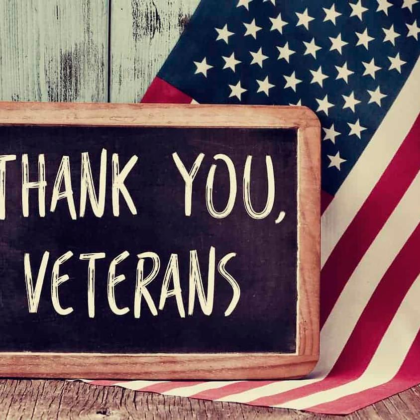 Veterans Appreciation Breakfast - November 10th, 2020