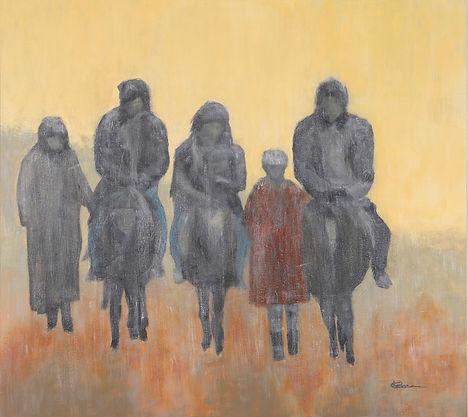 Migration - 36x40 - Acrylique