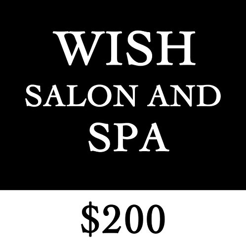 $200 GIFT CERTIFICATE