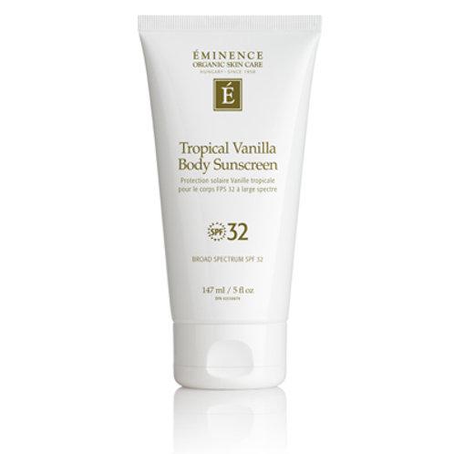 Tropical Vanilla Body Sunscreen