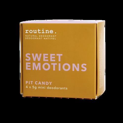 Routine Sweet Emotions Mini Kit