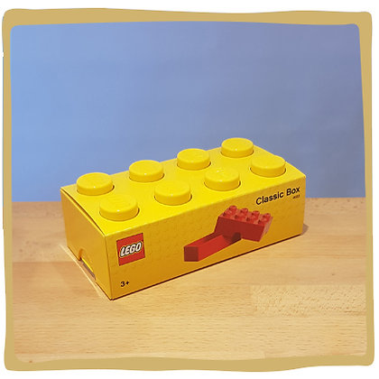 Lego Boterham doos - Geel