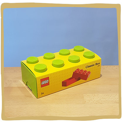 Lego Boterhamdoos - Limoengroen