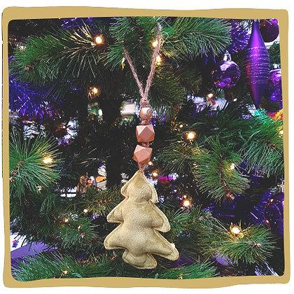Kerstbal - Zachte Kerstboom - Groen