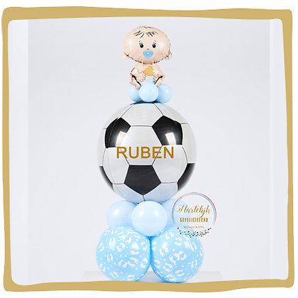 Baby Football Lover - Gepersonaliseerd