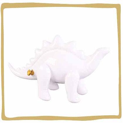 Spaarpot dinosaurus wit