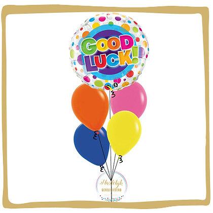 Good Luck - Helium Ballonboeket