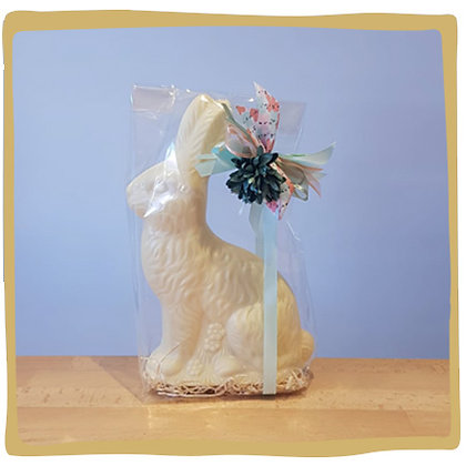 Paashaas - Witte Chocolade - 27cm