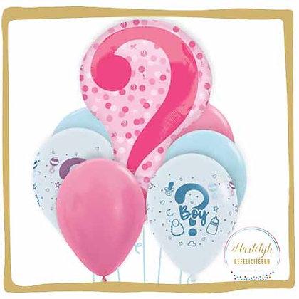 Gender Reveal - Ballon Boeket
