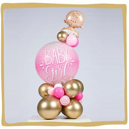 Baby Boy Bubble - Ballondecoratie
