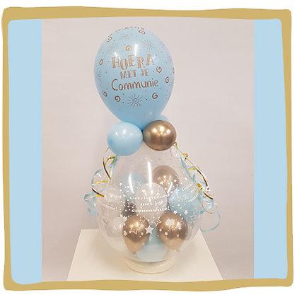 Cadeau Ballon Communie