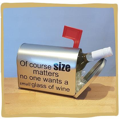 Wijn Brievenbus - Size Matters